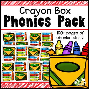 Crayon Box Phonics Pack - 350