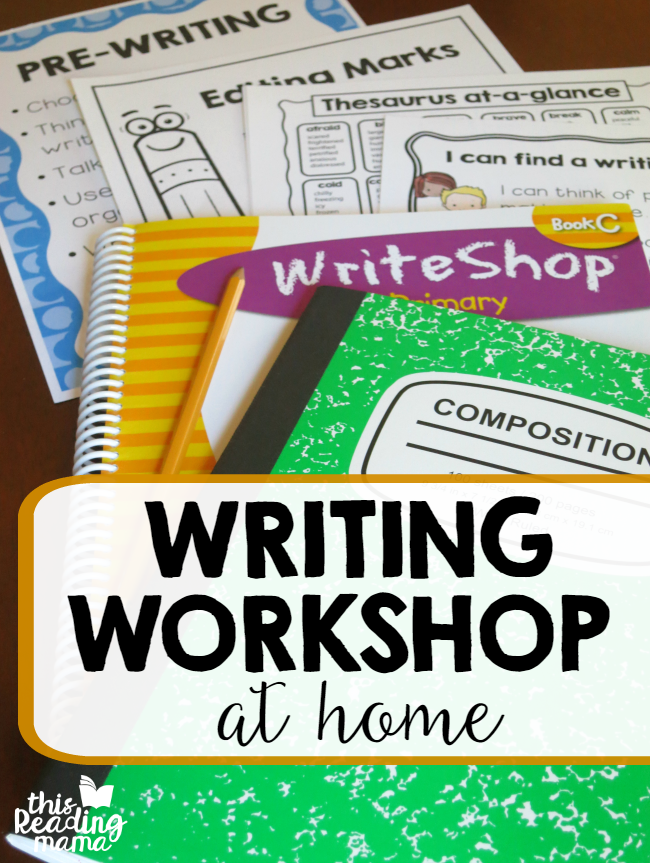 How to Teach Writing Workshop at Home - amazing resources - This Reading Mama