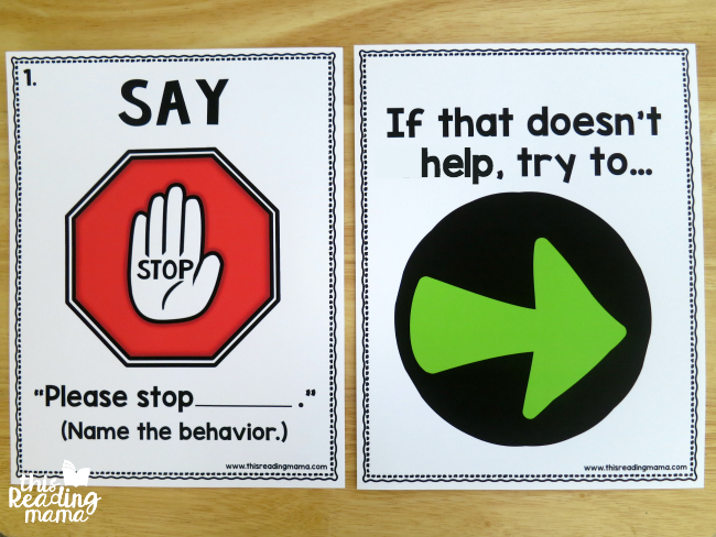 social problem solving posters - extra poster included