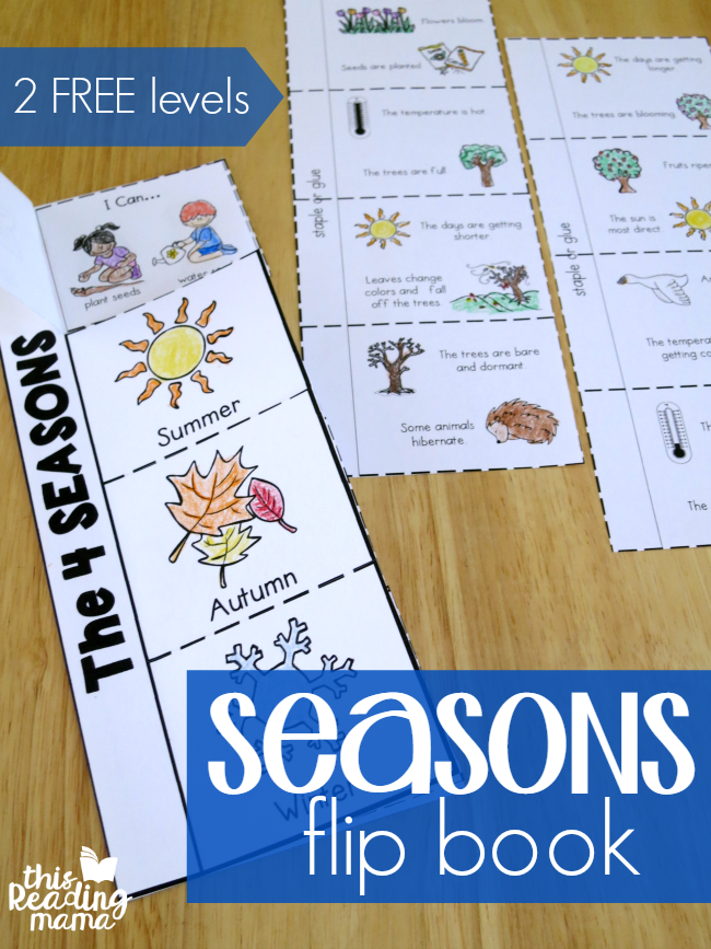 4 Seasons Flip Book {2 FREE Levels}