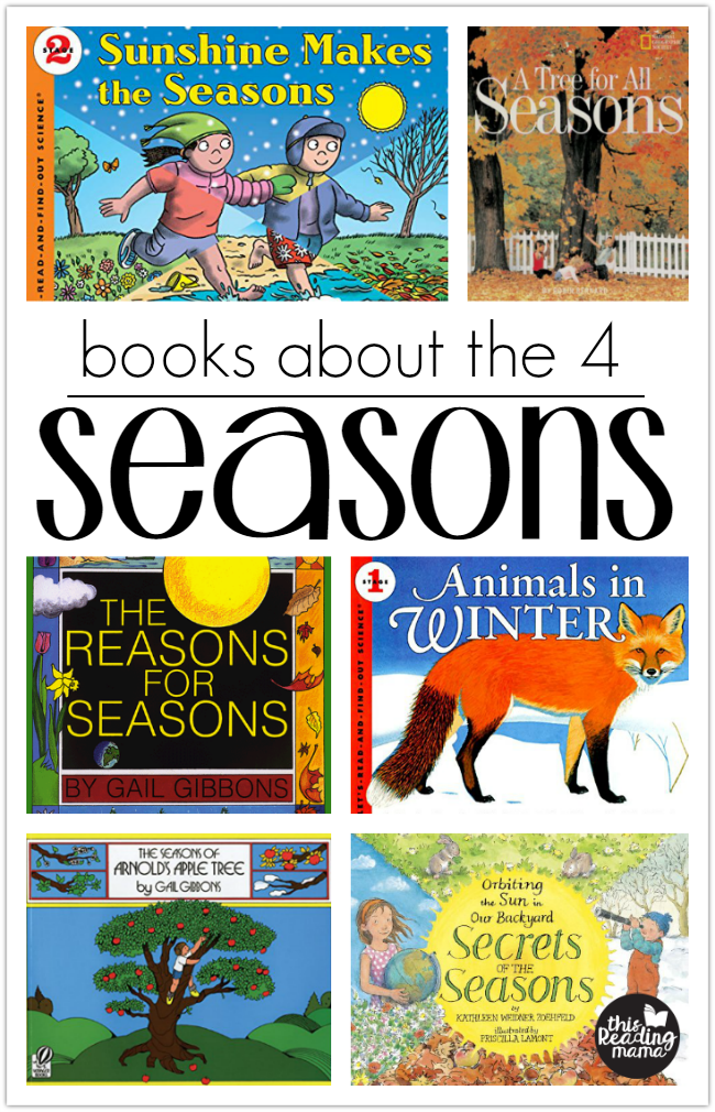 Books About the Seasons-This Reading Mama