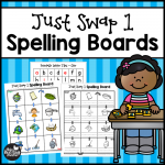 Just Swap 1 Spelling Boards for Short Vowels - This Reading Mama
