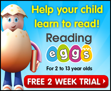 supplement your homeschool curriculum with Reading Eggs