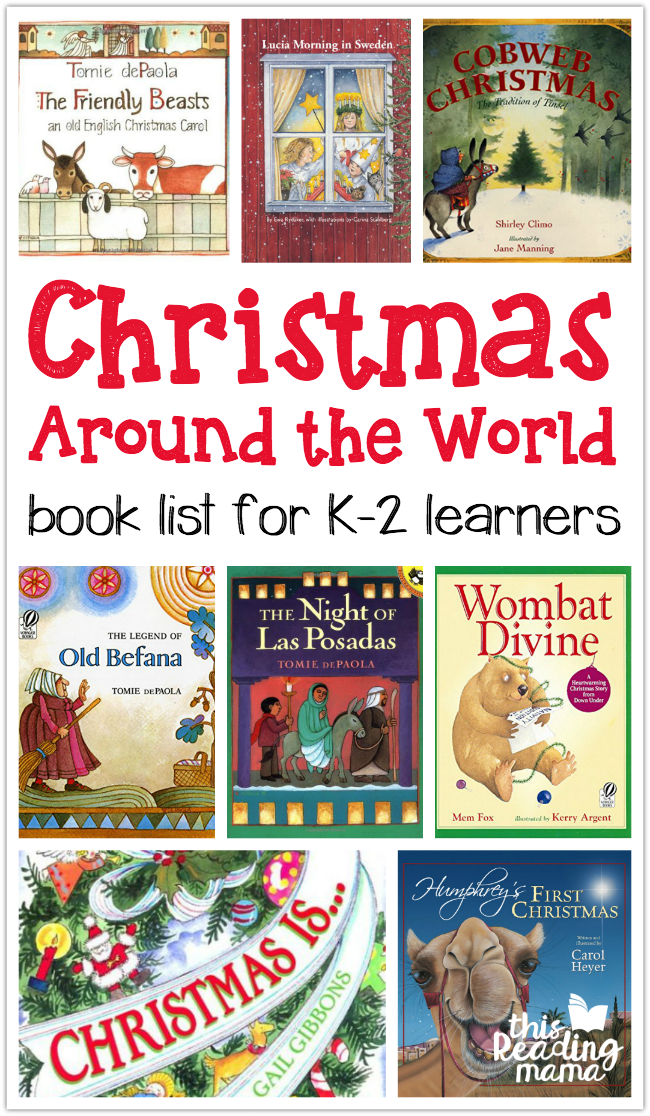 Christmas Around The World Activity Page This Reading Mama