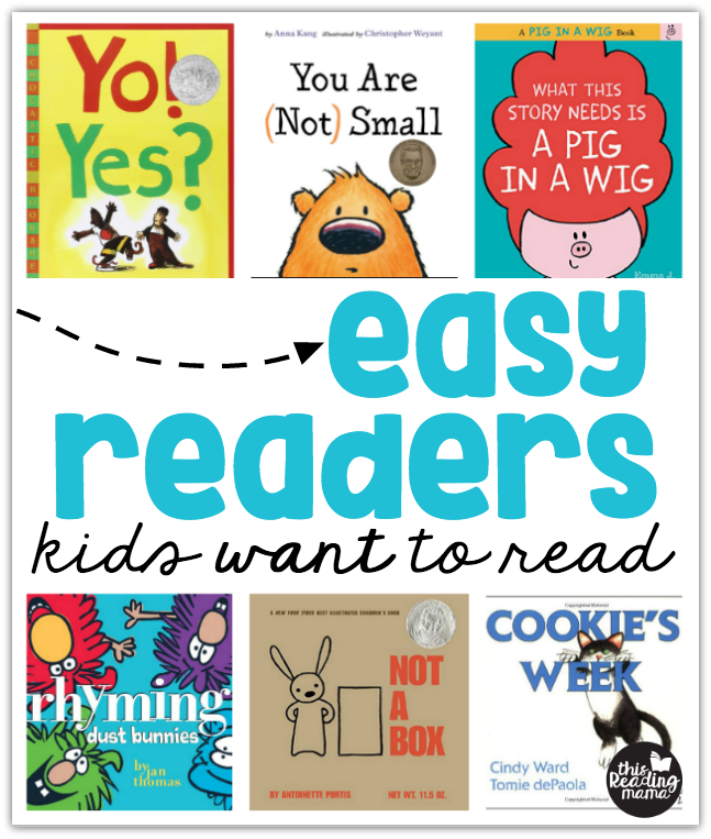 Easy Readers Kids WANT to Read from This Reading Mama