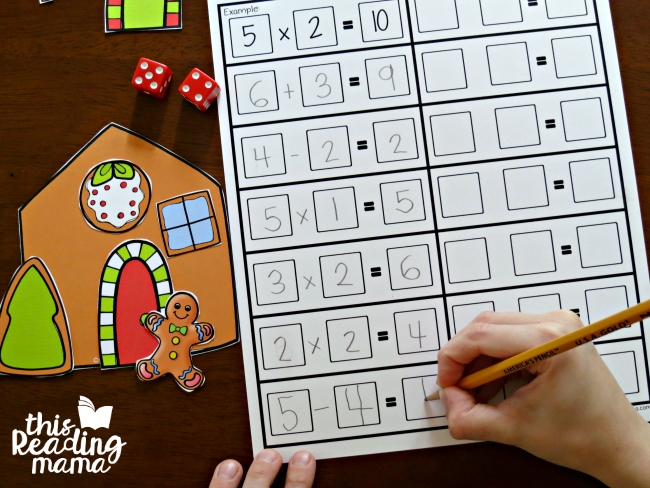 recording-sheet-for-gingerbread-house-math-game