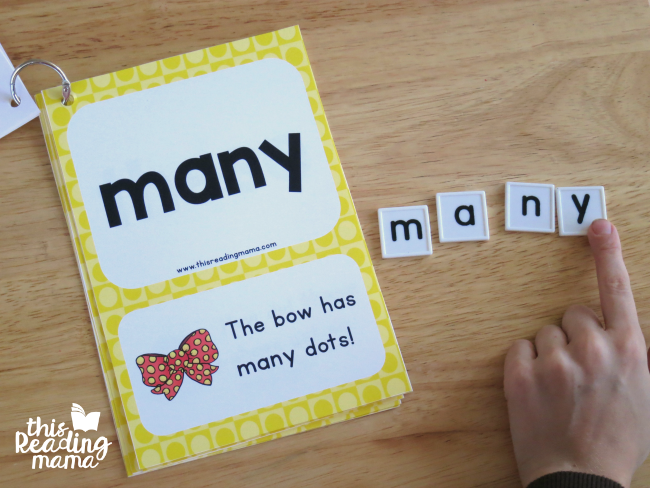 spelling sight words with letter tiles from 2nd grade sight word cards