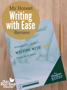 My HONEST Writing With Ease Review