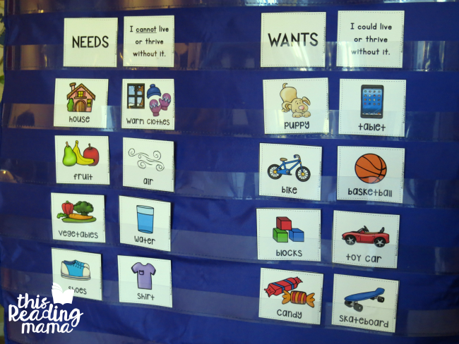 wants vs needs Explore mag front's board needs vs wants on pinterest | see more ideas about kindergarten science, preschool and studios.