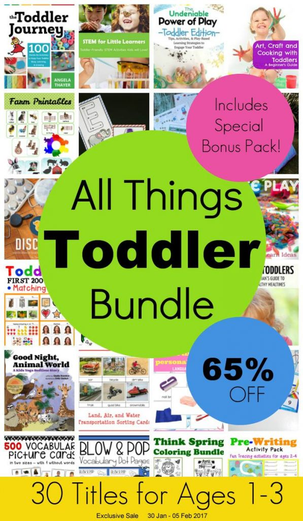 All Things Toddler Bundle Pack - 30 Titles for Ages 1-3