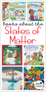 States of Matter Books for Kids