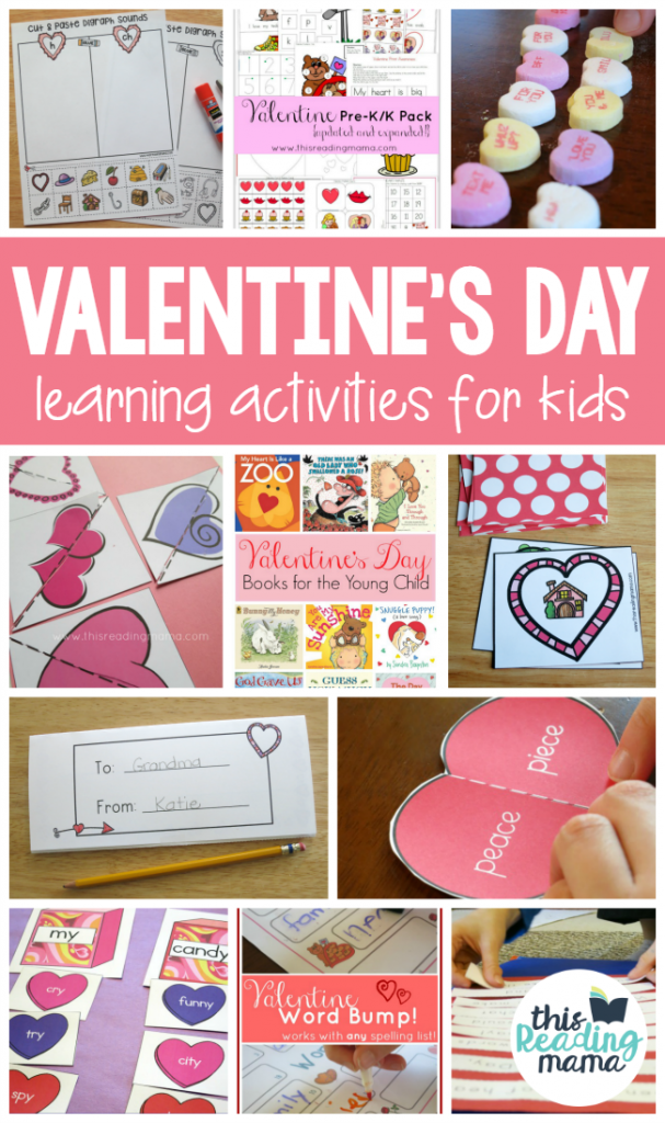 Valentine S Day Learning Activities For Kids This Reading Mama