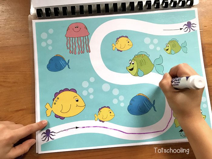 printable prewriting activities for toddlers