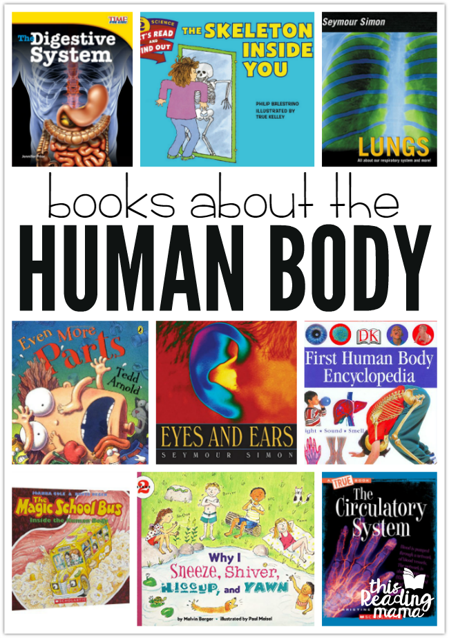 Human Body Book List for Kids - This Reading Mama