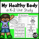 My Healthy Body Unit Study - This Reading Mama