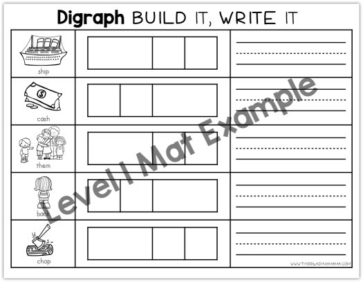 Digraph Build and Write Level 1 Example