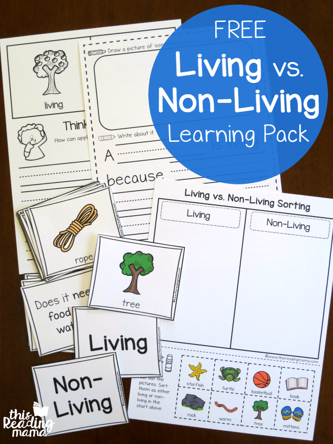 Living vs Non-Living Learning Pack
