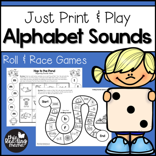 photograph regarding Letter Sound Games Printable called Print and Enjoy Alphabet Seems Video games