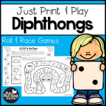 Print and Play Diphthongs Games - This Reading Mama