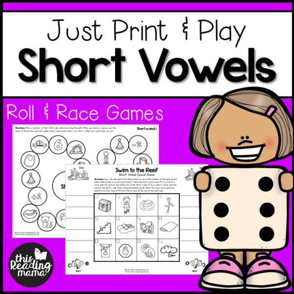 graphic about Printable Short Vowel Games titled Lower-Prep Shorter Vowel Online games - Print Enjoy