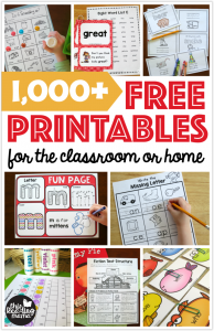 Newly Updated Free Printables Page!