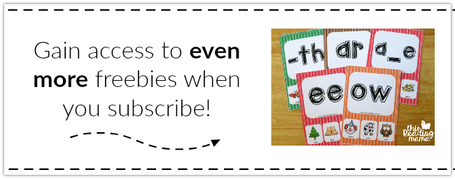 Gain access to even MORE Freebies when you Subscribe to my Newsletter!