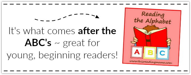 Grab the BUNDLE Pack of Reading the Alphabet from This Reading Mama