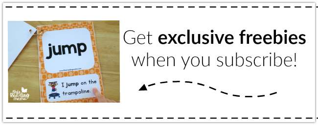 Get EXCLUSIVE Freebies when you Subscribe to my Newsletter!