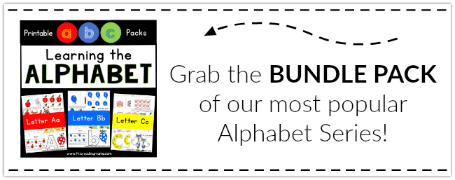 Learning the Alphabet ~ Grab the BUNDLE Pack from This Reading Mama