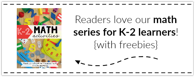 K-2 Printable Math Activities Series ~ LOTS of FREEBIES Included!
