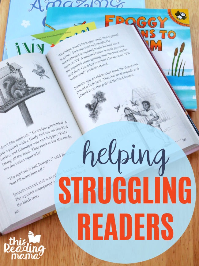 Helping Struggling Readers - This Reading Mama