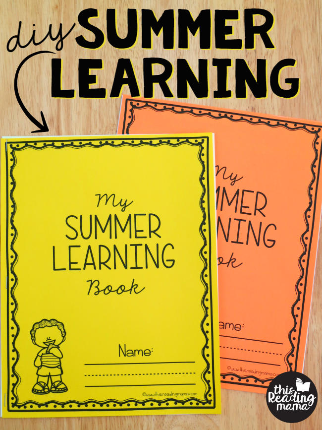 DIY Summer Learning Workbooks