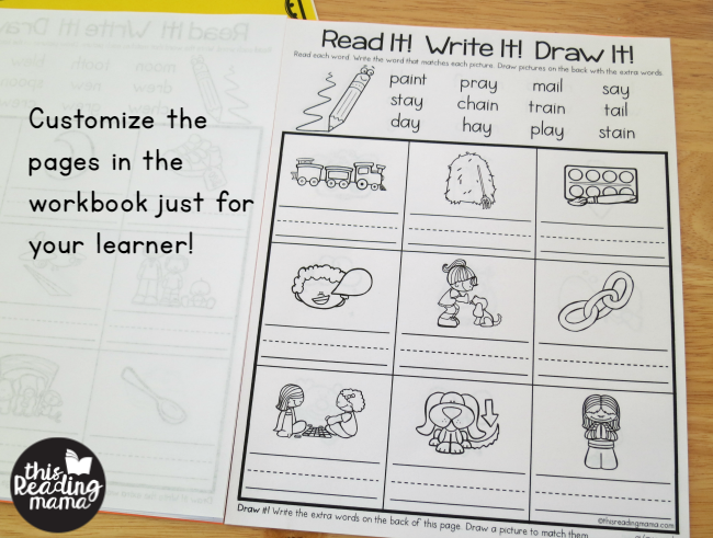 customize the pages include your DIY summer learning workbooks