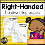 Right Handed Handwritng Pages