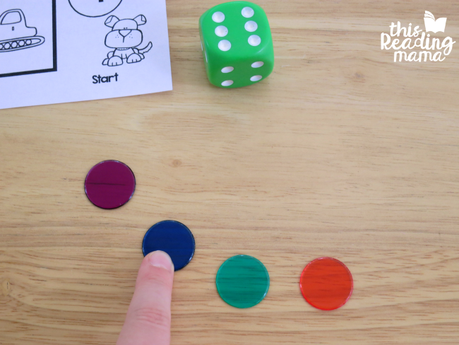 visual trick for counting syllables