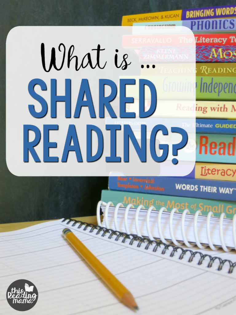 What is Shared Reading? - This Reading Mama