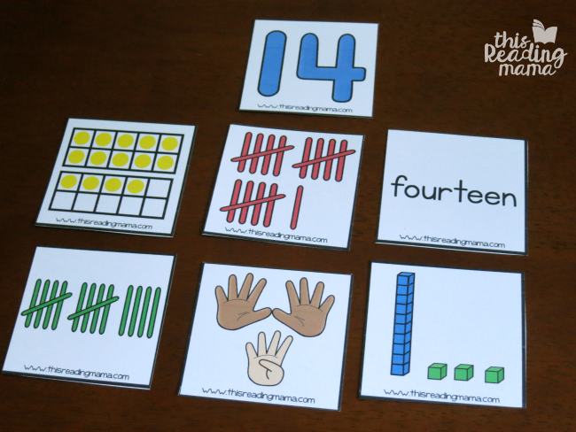 play a what doesn't belong game with number sense cards