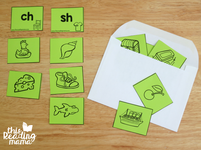 Digraph Sort - use an envelope to store pieces