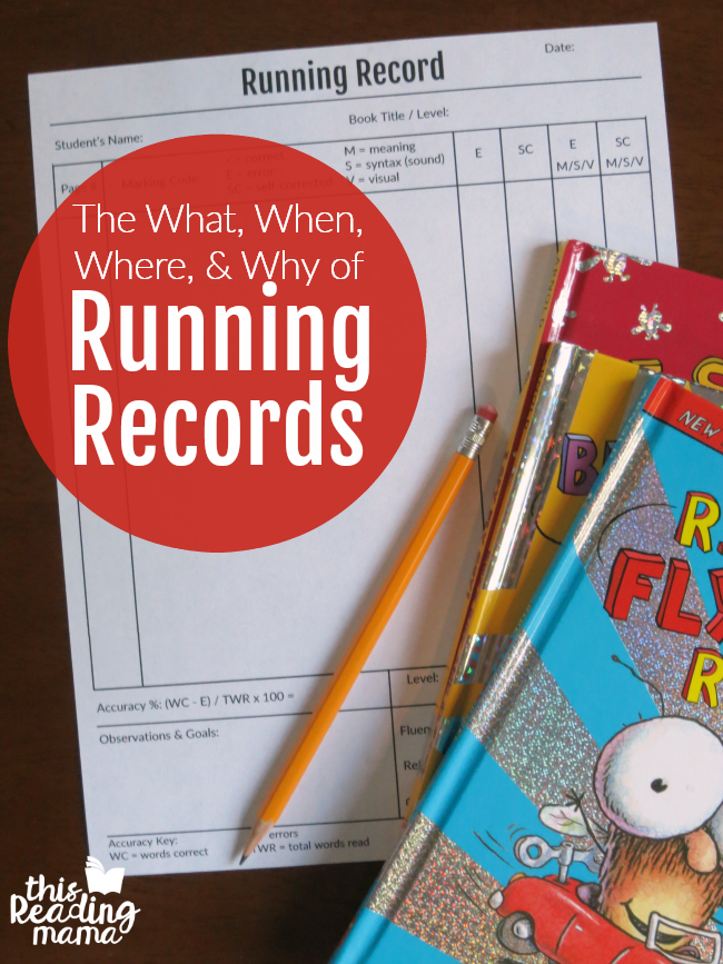 image relating to Printable Running Record Passages named Concerning Working Data - This Reading through Mama