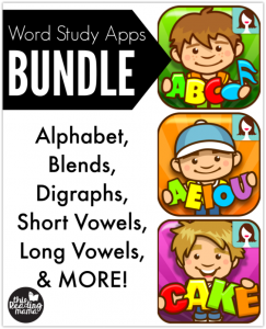 Word Study Apps BUNDLE – NOW Available!