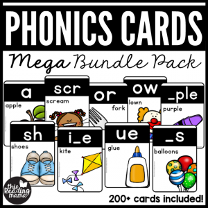 Phonics Cards - MEGA Bundle Pack - This Reading Mama