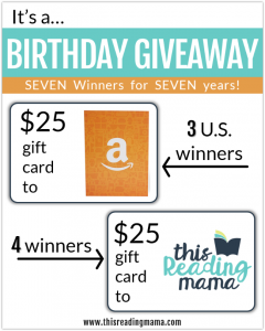 7 Year Blog Birthday Giveaway!