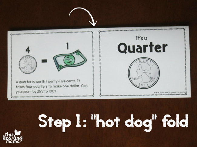hot dog fold the American coin books first