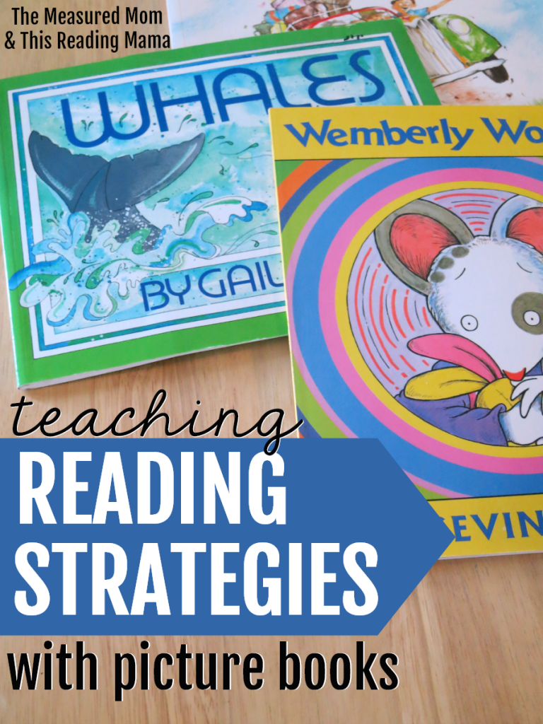 Teaching Comprehension Reading Strategies with Picture Books - This Reading Mama