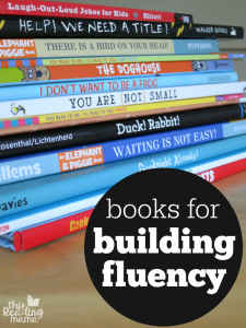 Books for Building Fluency with Readers