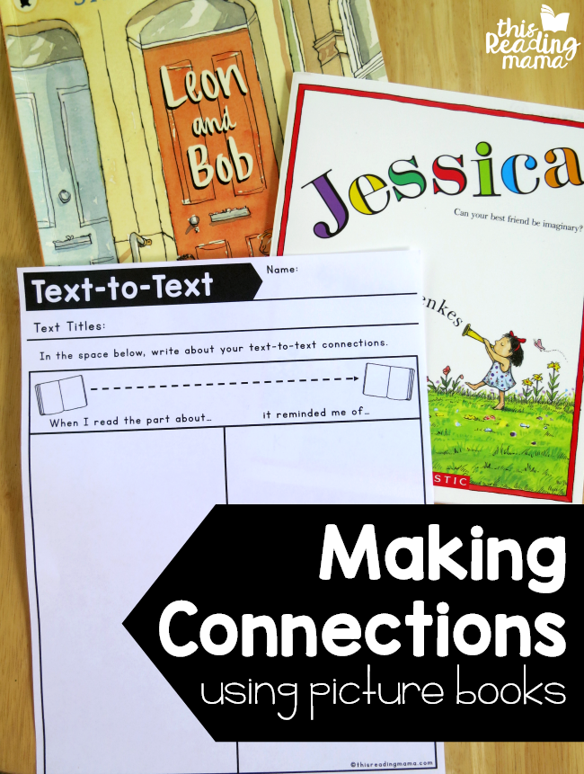Making Connections Using Picture Books - This Reading Mama