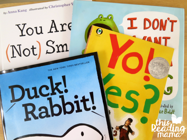 build fluency with books that have lots of dialogue