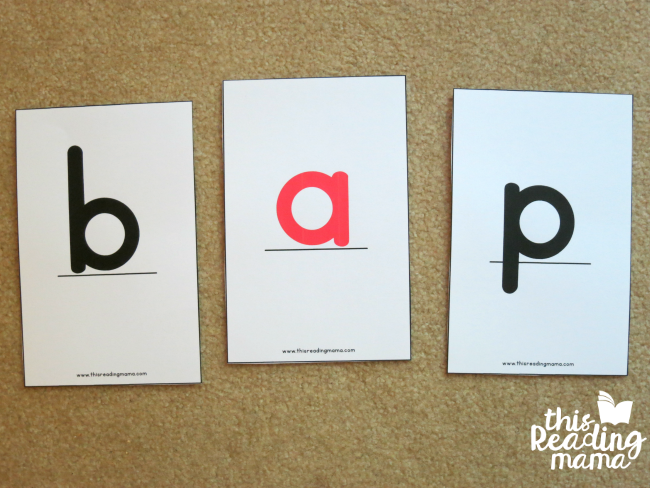 oversized letter cards with base line included