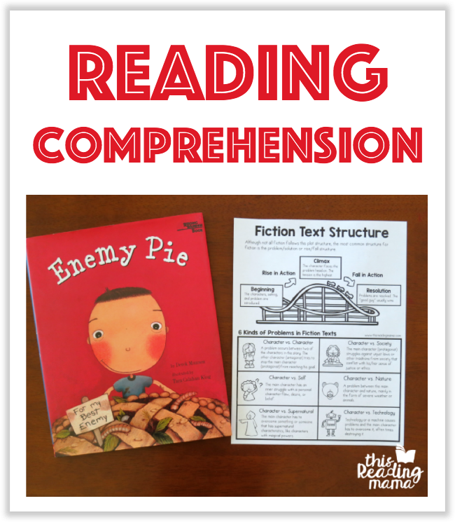 Reading Comprehension Printables - This Reading Mama