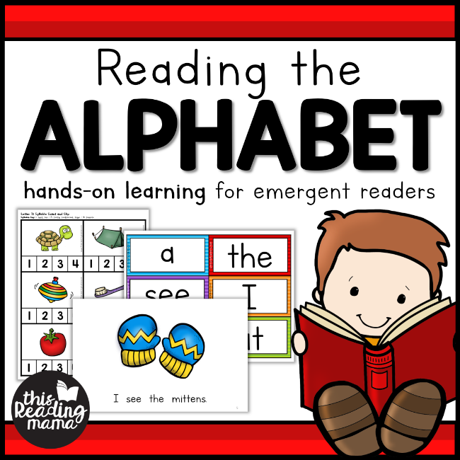 Reading the Alphabet: a FREE PreK Reading Curriculum